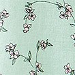 Linen Rich Floral Print Long Sleeve Shirt, MINT MIX, swatch