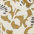 Pure Cotton Floral Print Shirt, GOLD MIX, swatch
