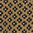 Pure Silk Printed Ruffle Sleeve Blouse, KHAKI MIX, swatch