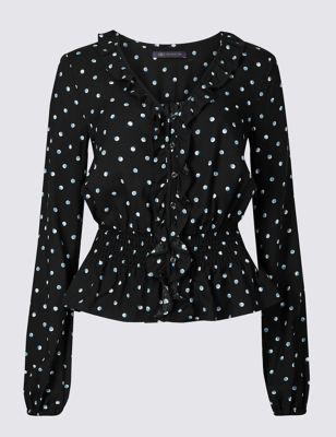 Black spot shirt