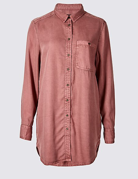 Longline Long Sleeve Shirt