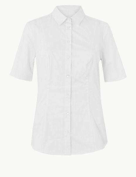 Cotton Rich Fuller Bust Shirt