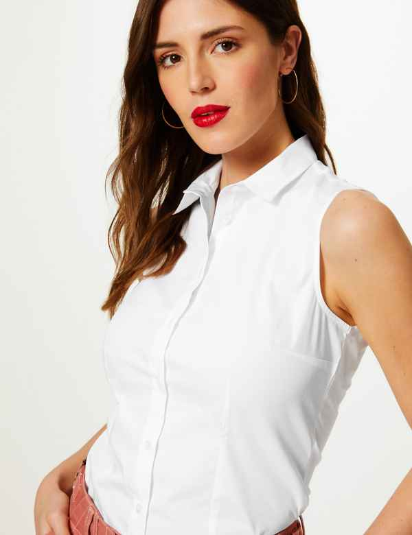 19c4d31513d0 Womens Work Shirts | Smart Work Blouses For Ladies | M&S