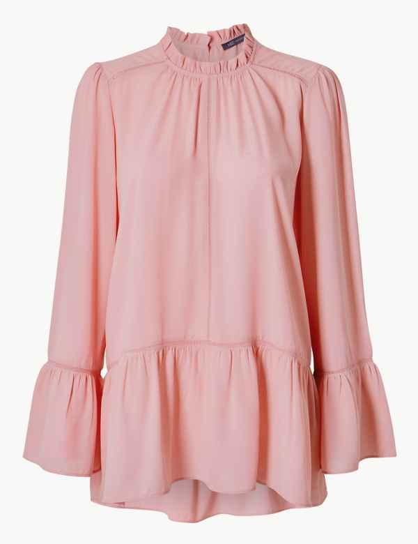 4b63a94bbaf093 Womens Pink Shirts & Blouses | M&S
