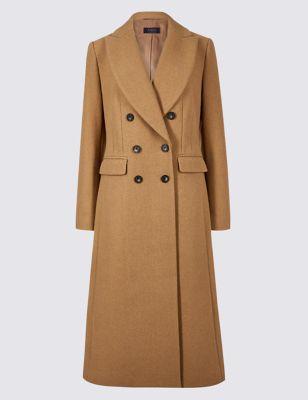Black longline coat