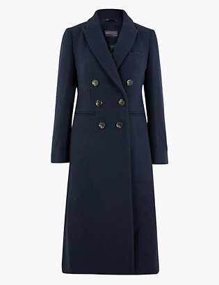Petite Waisted Overcoat by Standard Tracked Delivery