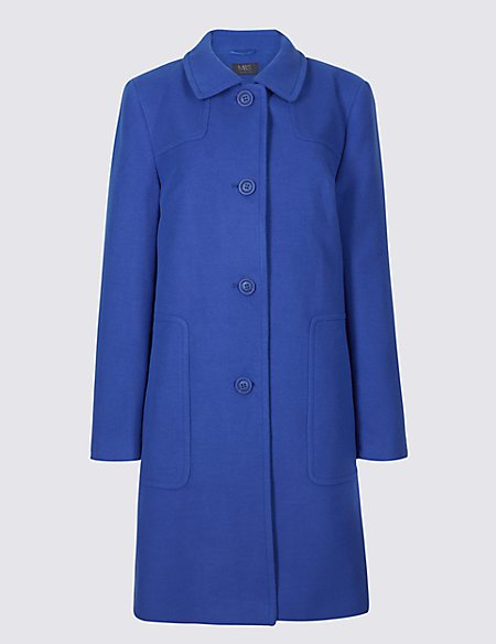 Patch Pocket Coat