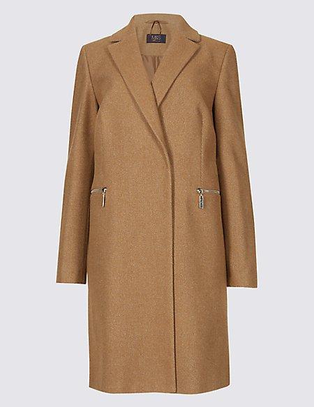 Marks and spencer camel coat