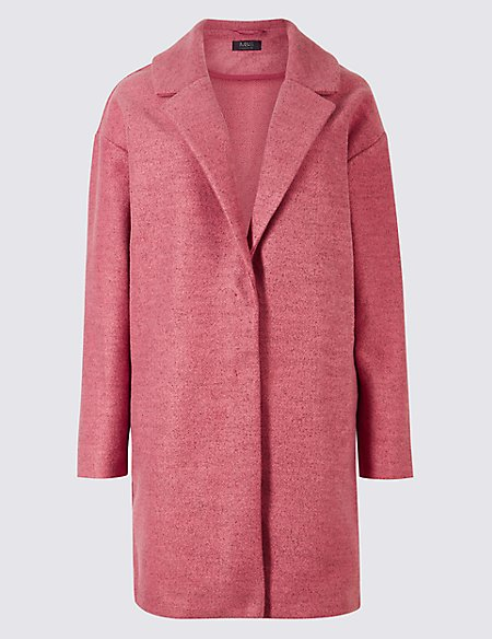 Open Front Long Sleeve Cardigan magenta Marks and Spencer Order Discount Lowest Price e3QiaxTTt
