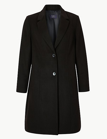 CURVE Single Breasted Coat