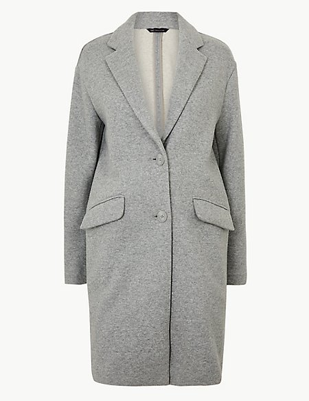 Unlined Single Breasted Coat
