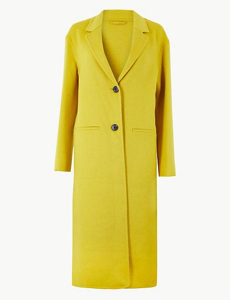 Double Faced Longline Coat