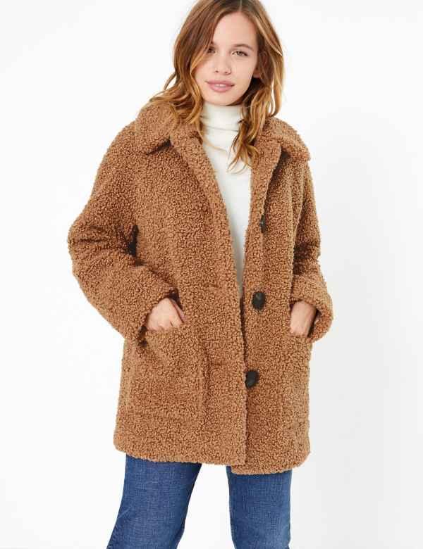 daae6532c55 Faux fur | Womens Coats & Jackets | M&S