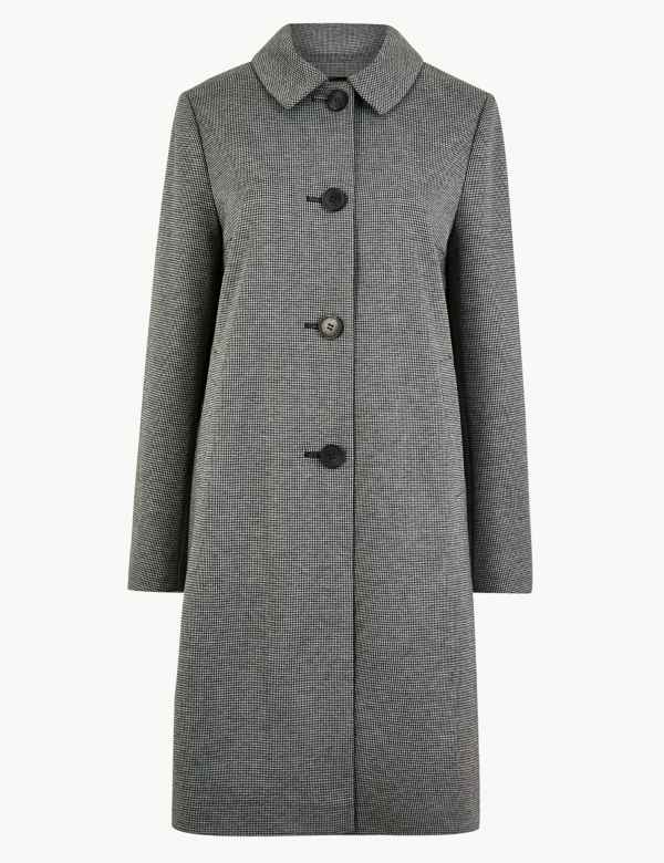 b9b1ac6ce Checked Coat. New. M&S Collection