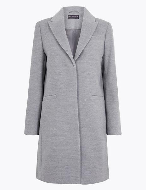 PETITE Classic Overcoat