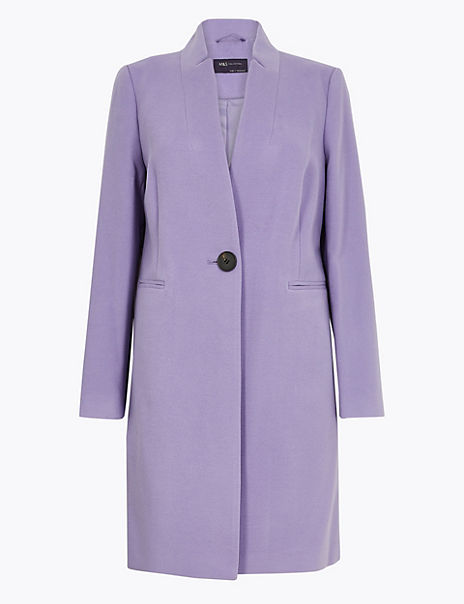 Notch Neck City Coat