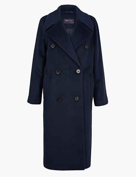 Raglan Sleeve Overcoat