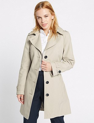 PETITE Trench Coat with Stormwear™