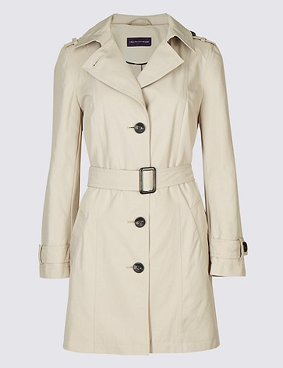 PETITE – Trenchcoat mit Stormwear™ | Marks & Spencer London