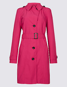 Trench Coat with Stormwear™, VERY PINK, catlanding