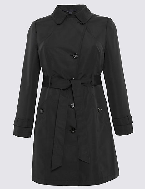 PLUS Belted Trench with Stormwear™