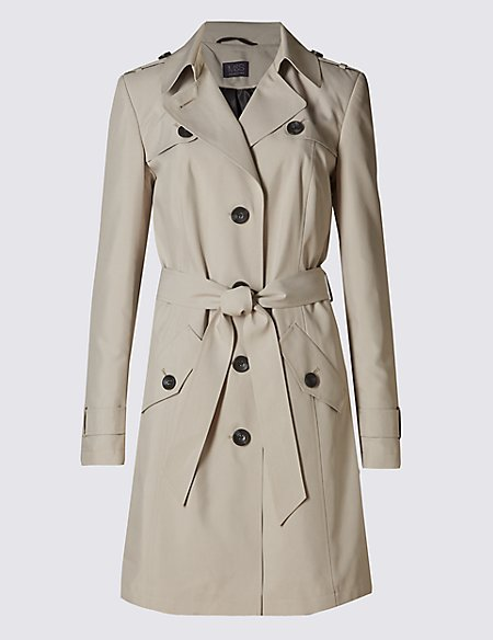 Belted Trench with Stormwear™