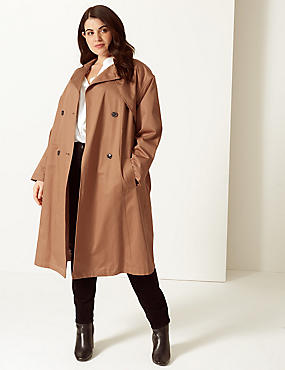 CURVE Longline Trench Coat with Stormwear™