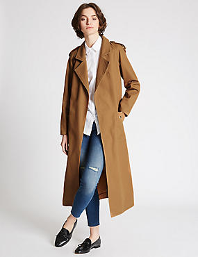 Pure Cotton Trench with Stormwear™