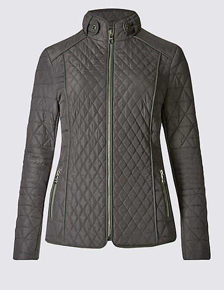 bc7dfc5bda73 Padded   Quilted Jacket with Stormwear™   Per Una   M S