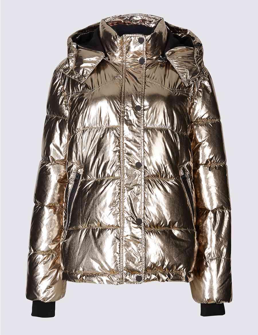 Metallic Padded Jacket With Stormwear Ms Collection Stormweartrade
