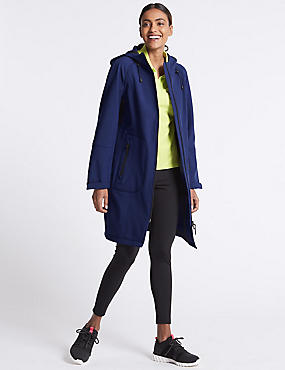 Funnel Neck Coat with Stormwear™