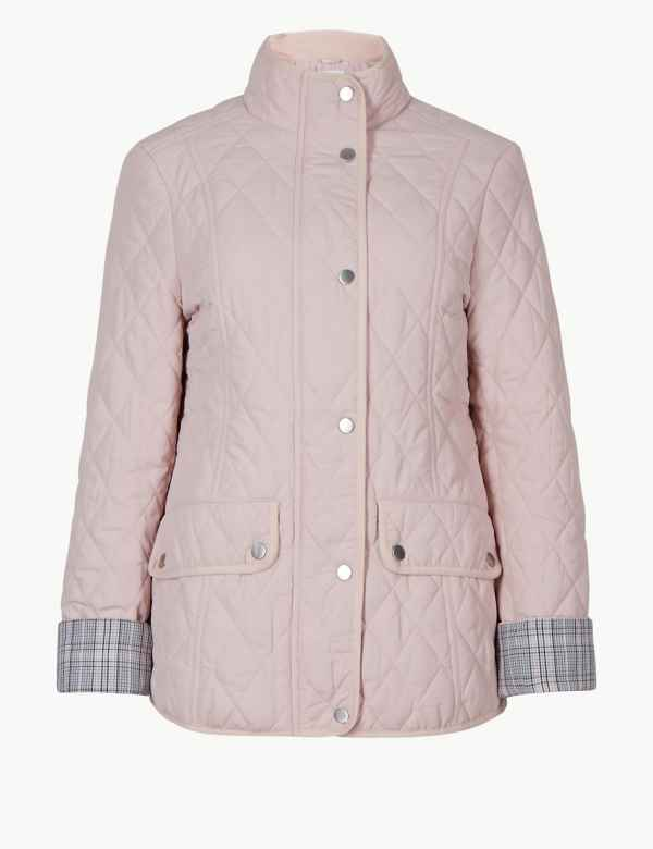Quilted & Padded Jacket. M&S Collection
