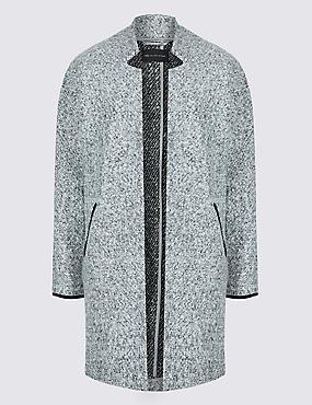 PETITE Open Front Coat