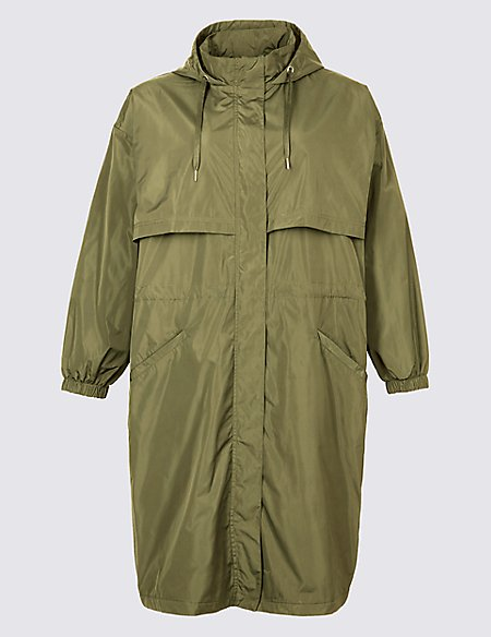 CURVE Hooded Parka