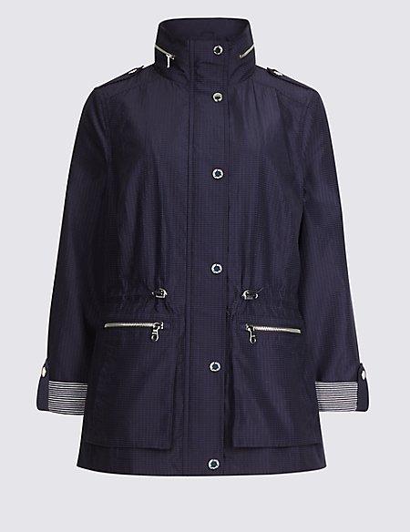 Jacquard Anorak Jacket with Stormwear™