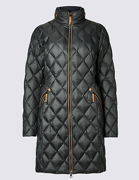 Down & Feather Coat with Stormwear™