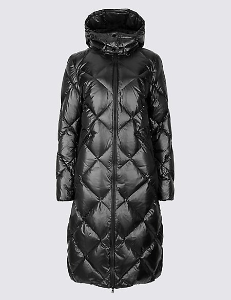 Padded Down & Feather Coat with Stormwear™