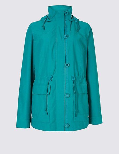 Cotton Rich Anorak Jacket with Stormwear™