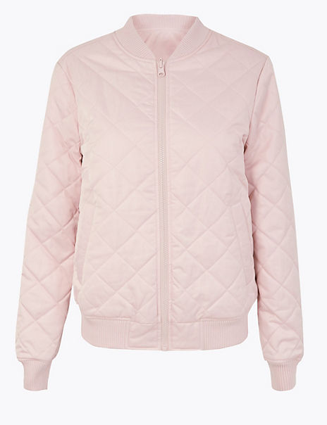 Reversible Quilted Bomber