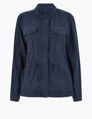Tencel™ Utility Jacket