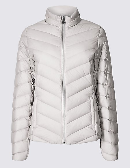 1c02e09826fc Lightweight Down   Feather Jacket
