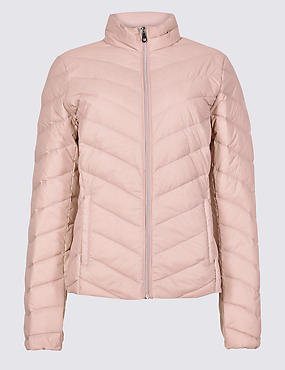 Down & Feather Padded Jacket with Stormwear™