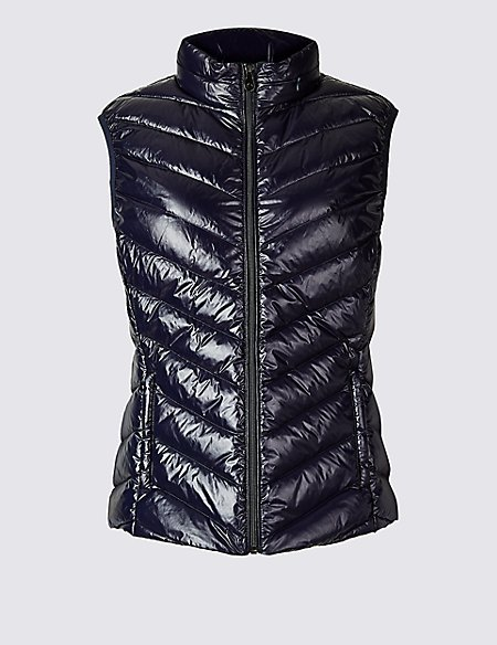 Padded Down & Feather Gilet