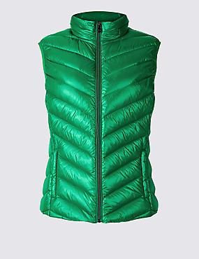 Padded Down & Feather Gilet with Stormwear™