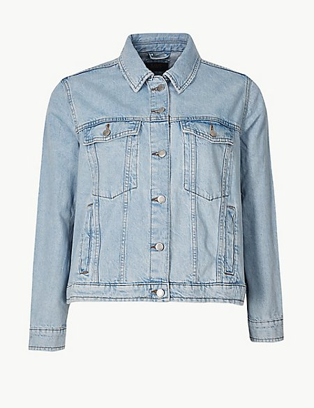 CURVE Pure Cotton Denim Jacket