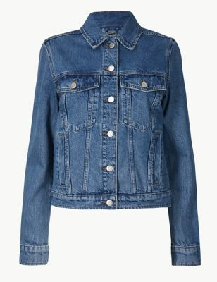 29a995ff8b0 Button Detailed Denim Jacket £35.00
