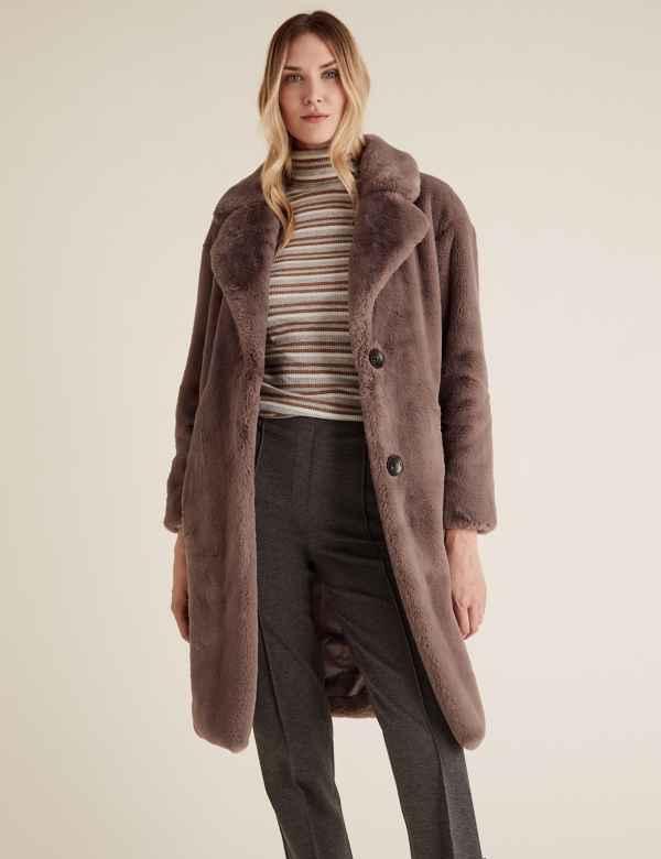 Women's Brown Coats & Jackets | M&S