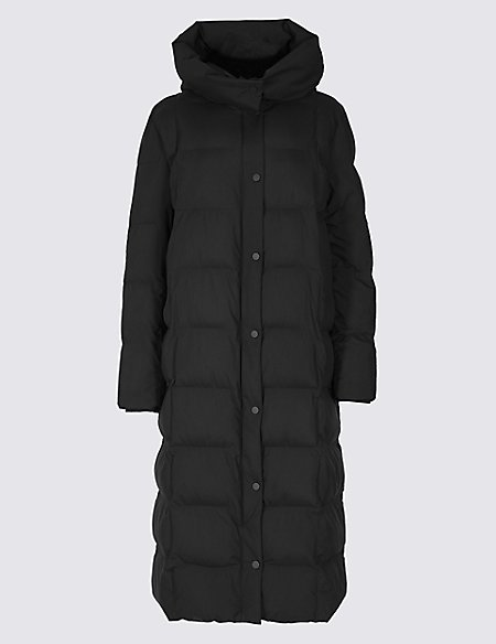 602c9a115d Oversized Longline Padded Coat | M&S Collection | M&S