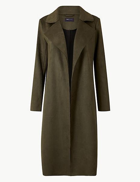 Open Front Longline Coat