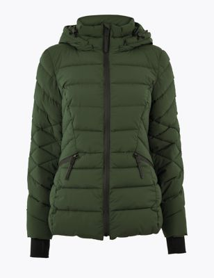Comfort Stretch Padded Jacket by Marks & Spencer